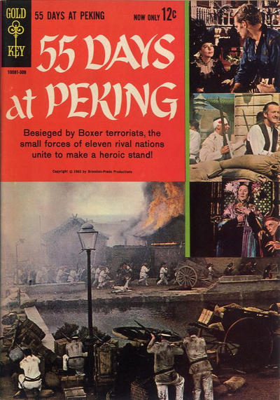 Cover for 55 Days at Peking (Western, 1963 series) #[nn]