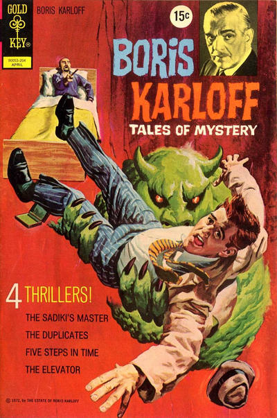 Cover for Boris Karloff Tales of Mystery (Western, 1963 series) #40