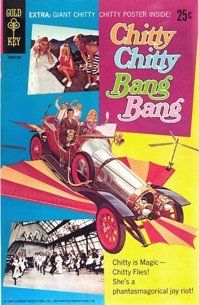 Cover for Chitty Chitty Bang Bang (Western, 1969 series) #[nn]