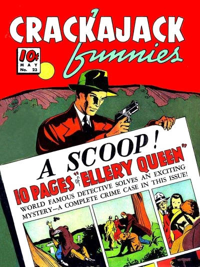 Cover for Crackajack Funnies (Dell, 1938 series) #23
