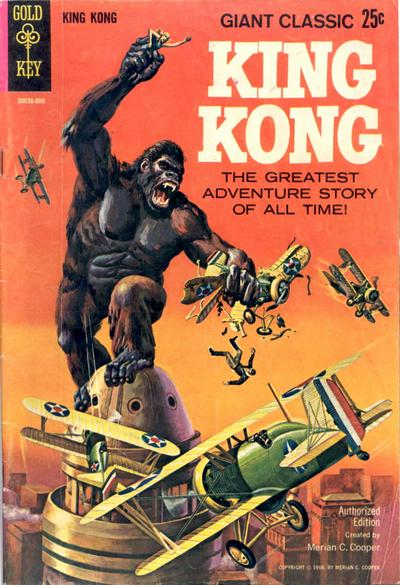 Cover for King Kong (Western, 1968 series) #[nn]