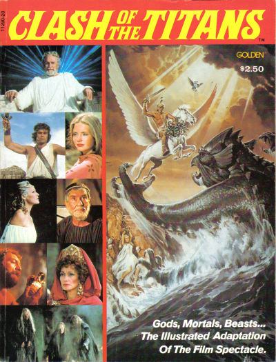 Cover for Clash of the Titans (1981 series) #11290
