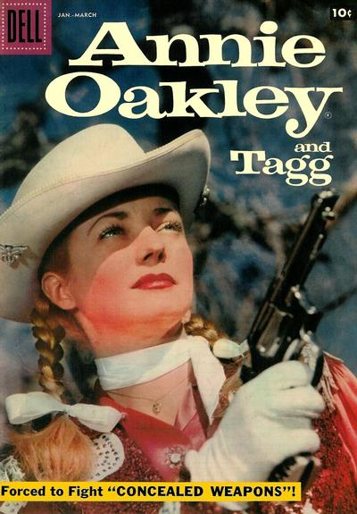 Cover for Annie Oakley and Tagg (Dell, 1955 series) #14