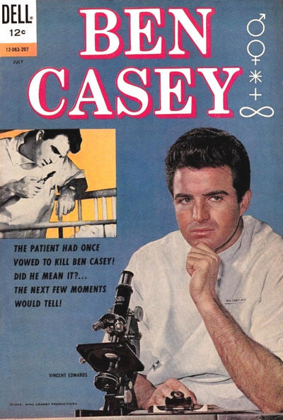 Cover for Ben Casey (Dell, 1962 series) #[1]