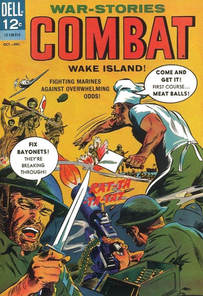 Cover for Combat (1961 series) #18