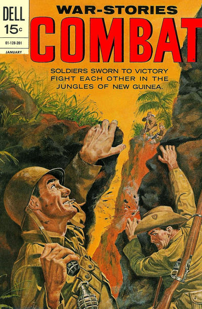 Cover for Combat (Dell, 1961 series) #34