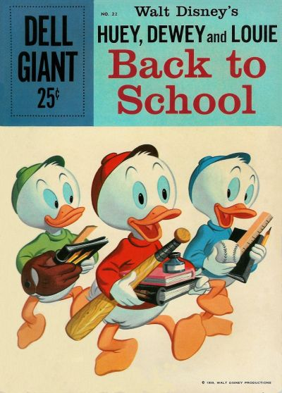 Cover for Dell Giant (Dell, 1959 series) #22