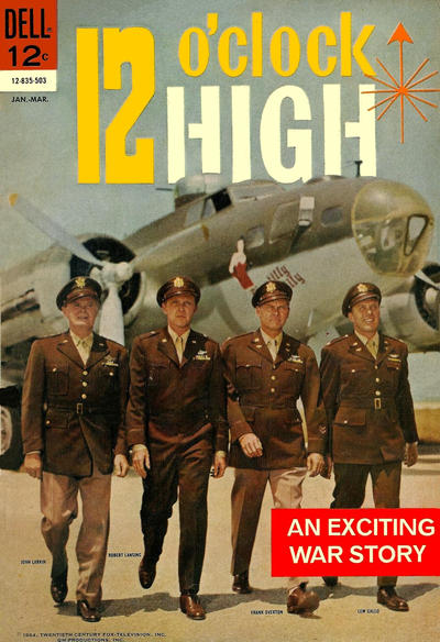 Cover for 12 O'Clock High (Dell, 1965 series) #1