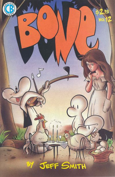 Cover for Bone (Cartoon Books, 1991 series) #12