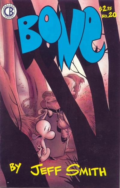 Cover for Bone (Cartoon Books, 1991 series) #20