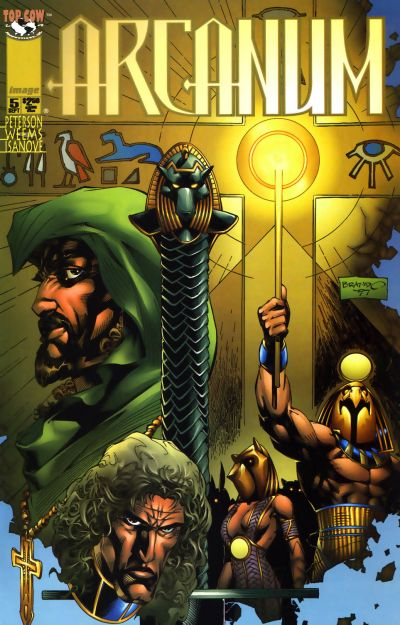 Cover for Arcanum (Image, 1997 series) #5
