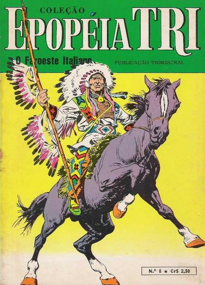 Cover for Epopéia Tri (1970 series) #8