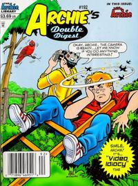 Cover Thumbnail for Archie's Double Digest Magazine (Archie, 1984 series) #192