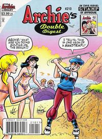 Cover Thumbnail for Archie's Double Digest Magazine (Archie, 1984 series) #210