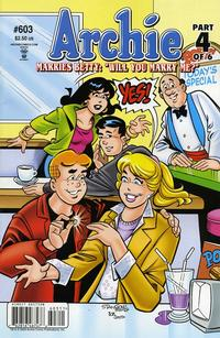 Cover for Archie (1962 series) #603