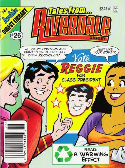 Cover for Tales from Riverdale Digest (Archie, 2005 series) #26