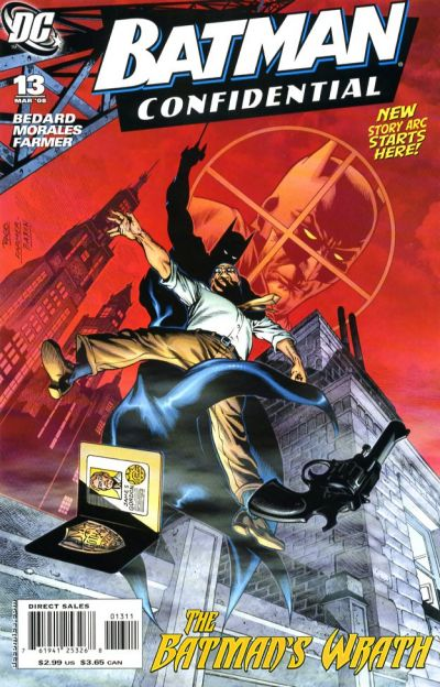 Cover for Batman Confidential (DC, 2007 series) #13