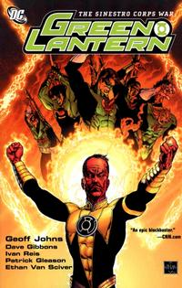 Cover Thumbnail for Green Lantern: The Sinestro Corps War (DC, 2008 series) #1