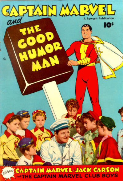 Cover for Captain Marvel and the Good Humor Man (Fawcett, 1950 series)
