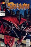 Cover for Spawn (Image, 1992 series) #5 [Newsstand Edition]