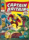 Cover for Captain Britain (Marvel UK, 1976 series) #28