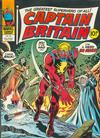 Cover for Captain Britain (Marvel UK, 1976 series) #35