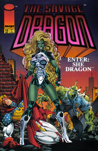 Cover Thumbnail for Savage Dragon (Image, 1993 series) #12
