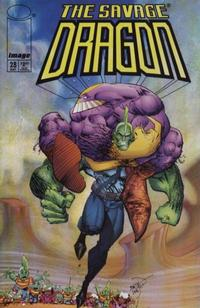 Cover Thumbnail for Savage Dragon (Image, 1993 series) #28
