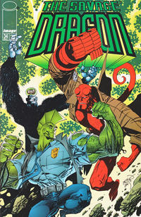 Cover Thumbnail for Savage Dragon (Image, 1993 series) #34