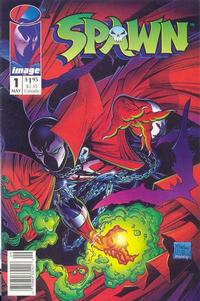 Cover Thumbnail for Spawn (Image, 1992 series) #1 [Newsstand]