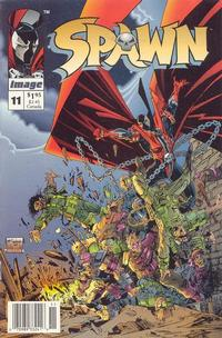 Cover Thumbnail for Spawn (Image, 1992 series) #11 [Newsstand]