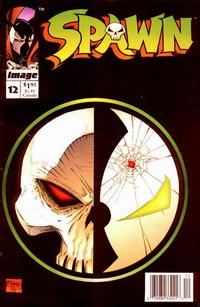 Cover for Spawn (Image, 1992 series) #12 [Direct Edition]