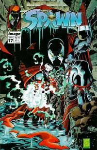Cover Thumbnail for Spawn (Image, 1992 series) #17 [Direct]