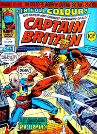 Cover Thumbnail for Captain Britain (Marvel UK, 1976 series) #14