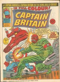 Cover Thumbnail for Captain Britain (Marvel UK, 1976 series) #18