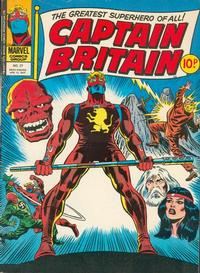 Cover Thumbnail for Captain Britain (Marvel UK, 1976 series) #27