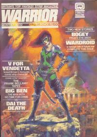 Cover Thumbnail for Warrior (Quality Communications, 1982 series) #22