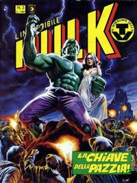 Cover for L&#39; Incredibile Hulk (1980 series) #3