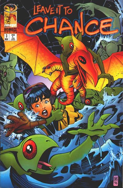 Cover for Leave It to Chance (1996 series) #3