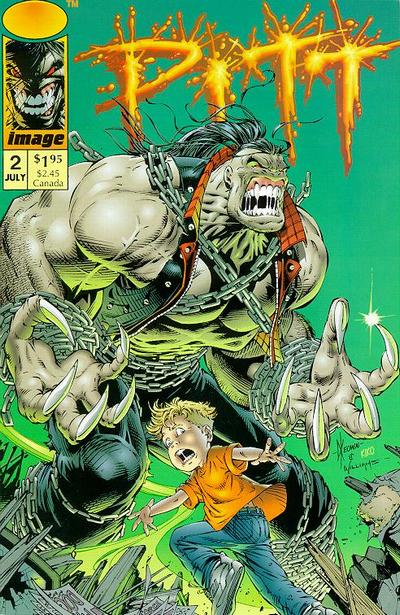 Cover for Pitt (1993 series) #2