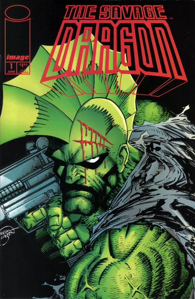 Cover for Savage Dragon (Image, 1993 series) #1