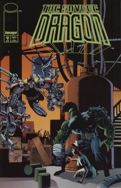 Cover for Savage Dragon (Image, 1993 series) #9