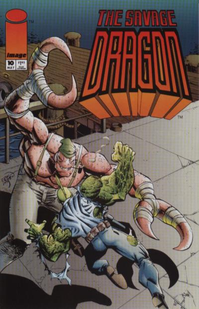 Cover for Savage Dragon (Image, 1993 series) #10