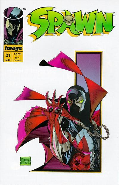 Cover for Spawn (Image, 1992 series) #21