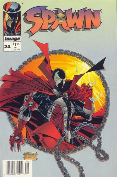 Cover for Spawn (Image, 1992 series) #24