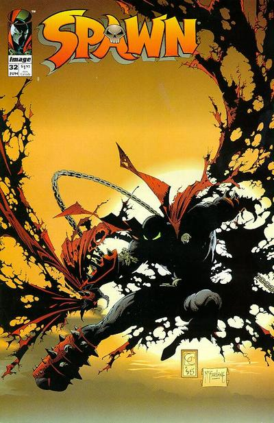 Cover for Spawn (1992 series) #32