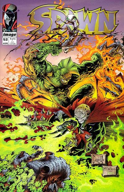 Cover for Spawn (Image, 1992 series) #52
