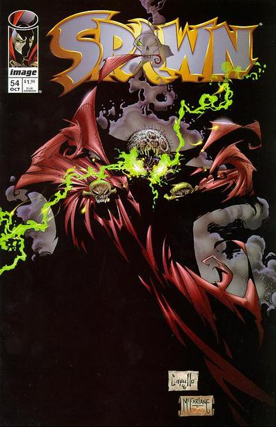 Cover for Spawn (Image, 1992 series) #54
