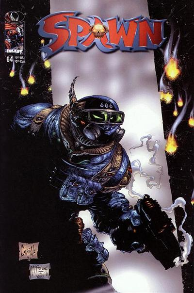 Cover for Spawn (1992 series) #64