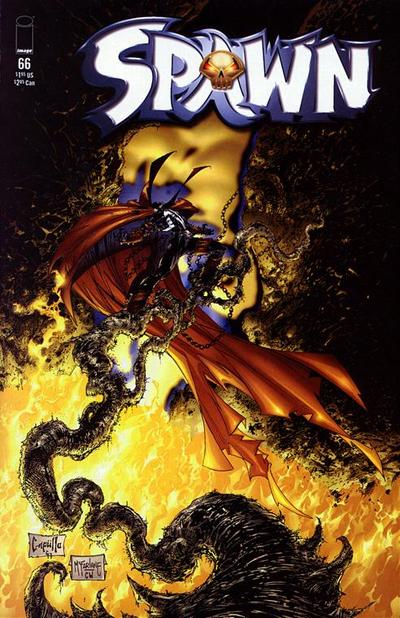 Cover for Spawn (1992 series) #66